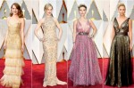 Първи мигове разкош: ето ги звездите на червения килим на Оскари 2017