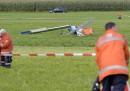 Самолет се разби, убивайки най-малко петима