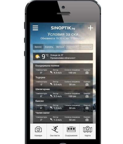 Sinoptik app