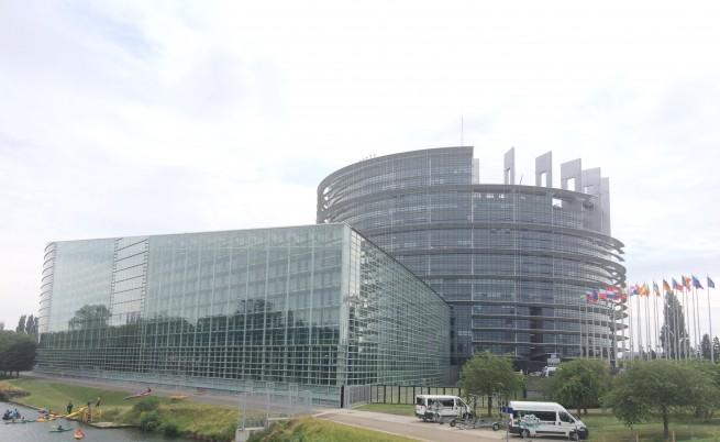 Сградата на ЕП в Страсбург