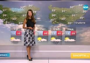Прогноза за времето (07.07.2015 - централна)