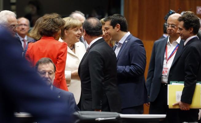 Среща на лидерите на еврозоната за Гърция
