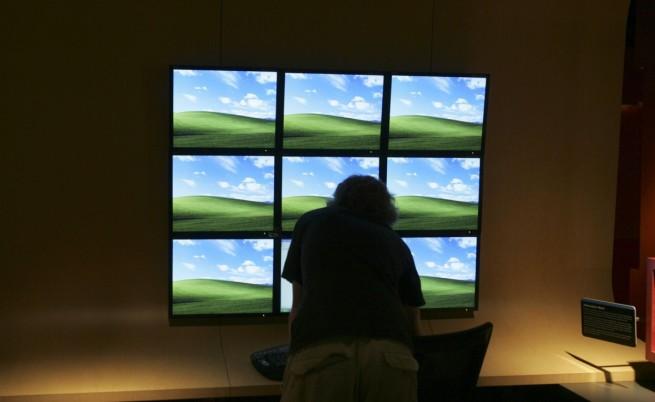 Този пейзаж стана вероятно най-популярният в света  тапетът по подразбиране на XP