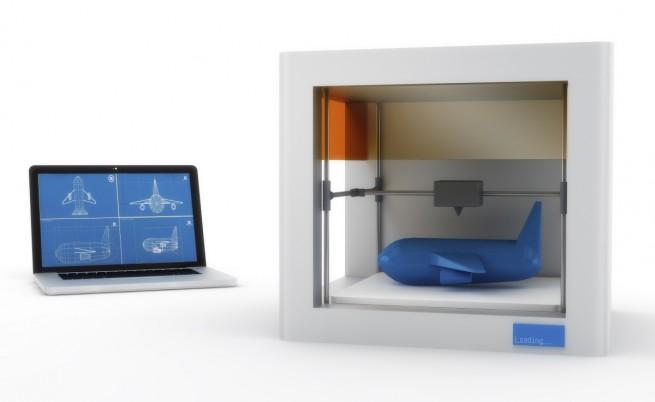 3D принтер, самолет