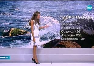 Прогноза за времето (29.08.2015 - сутрешна)