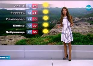Прогноза за времето (29.08.2015 - централна)