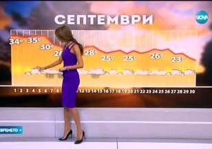 Прогноза за времето (30.08.2015 - централна)