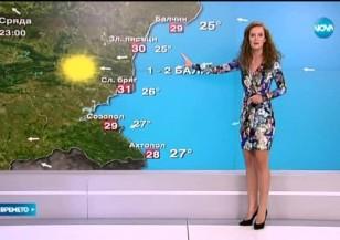 Прогноза за времето (02.09.2015 - обедна)