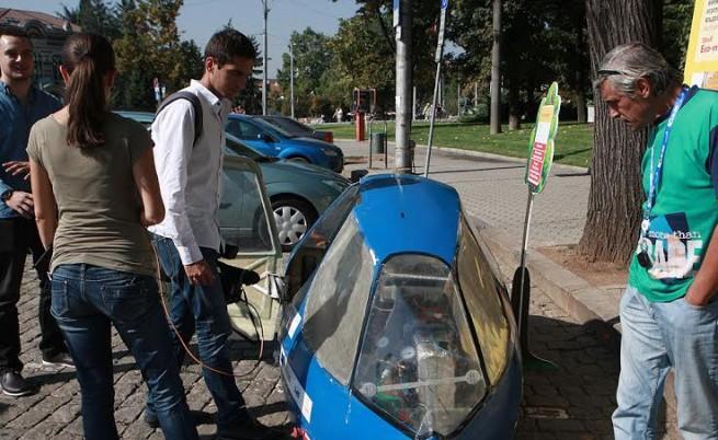 Еко автомобилът на студентите от Техническия университет