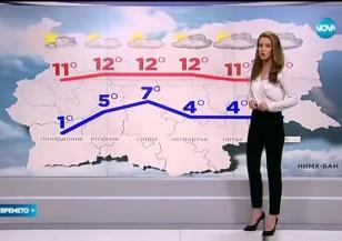 Прогноза за времето (29.11.2015 - централна)
