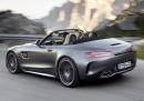 Mercedes впечатлява с AMG GT Roadster