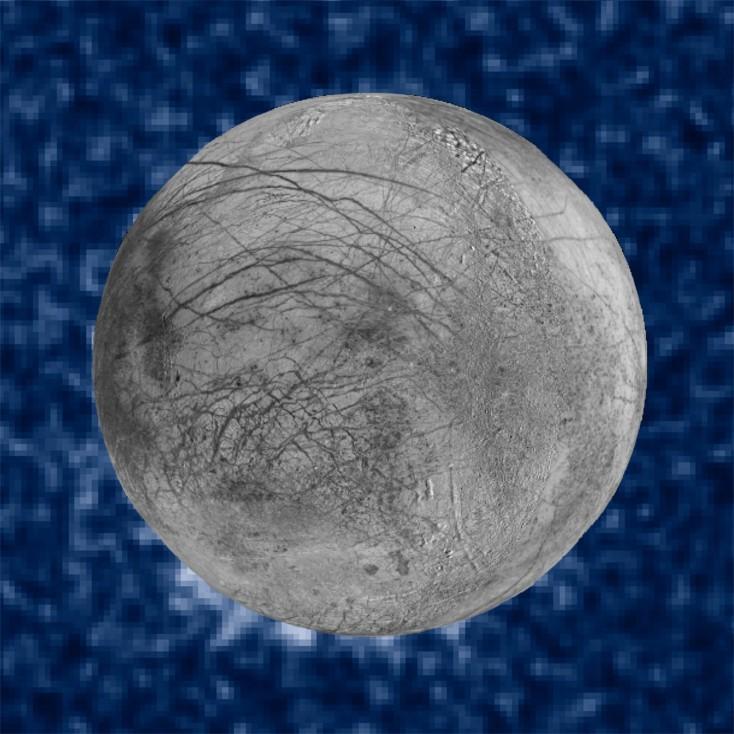 - Астрономи съобщават, че са открили предполагаеми струи водна пара, изригващи от повърхността на юпитеровата луна Европа, предадоха световните...