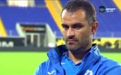 Веселин Великов ядосан от пропуснатите шансове срещу Левски