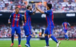 Дузпа, Меси и победа в сетния миг за Барса във Валенсия