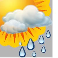 Променлива облачност и слаби превалявания от дъжд
