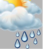 Предимно облачно със слаб дъжд