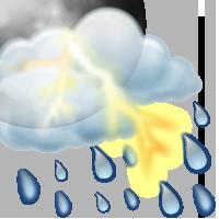 Променлива облачност, възможни валежи от дъжд с гръмотевици