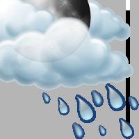 Предимно облачно с краткотрайни превалявания от дъжд