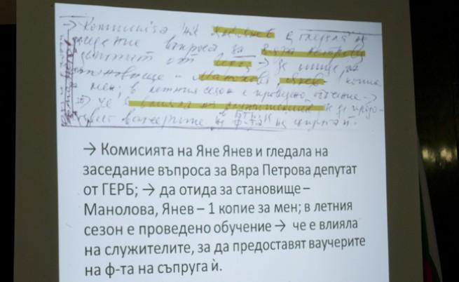 Указанията в тефтерчето на Златанов изпълнени на 100%