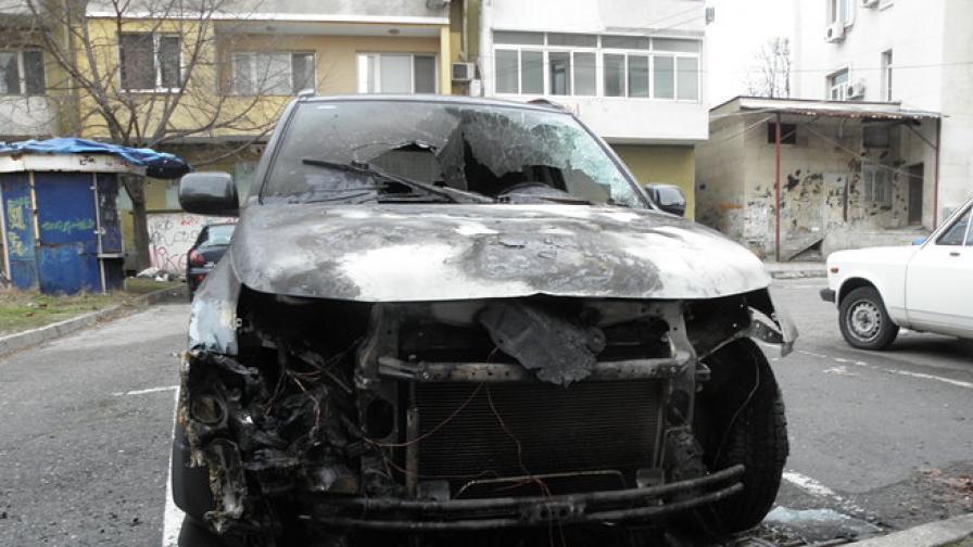 Пореден палеж на автомобил в Благоевград