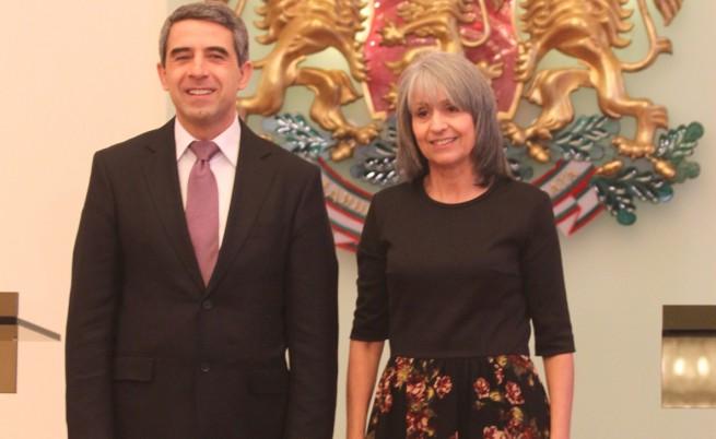 Росен Плевнелиев и Маргарита Попова