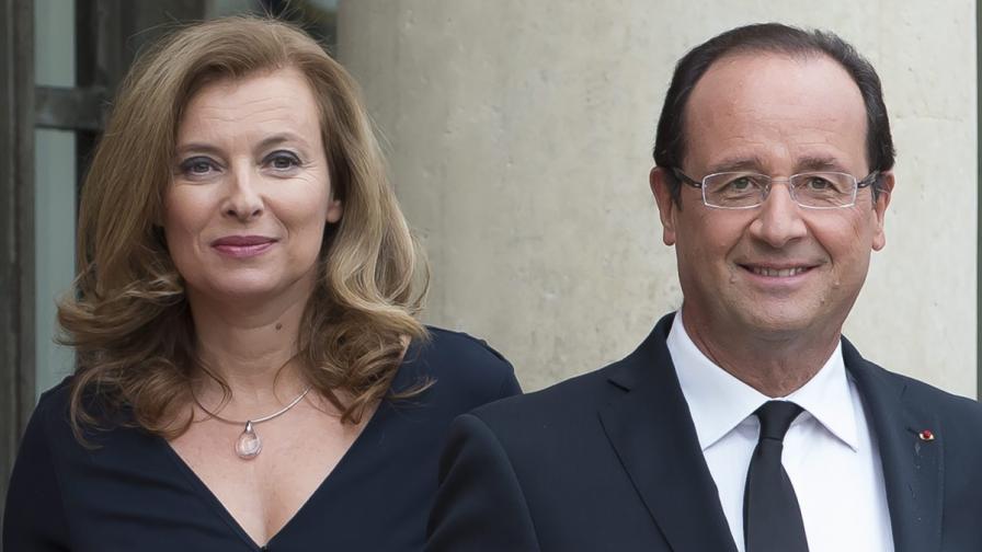 Оланд се разделя с партньорката си Валери Трирвильор
