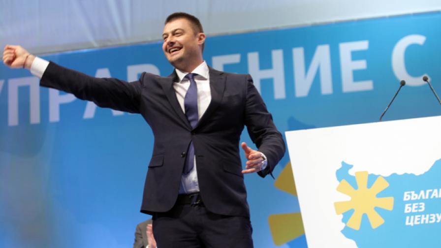 """Николай Бареков на учредяването на ПП """"България без цензура"""""""