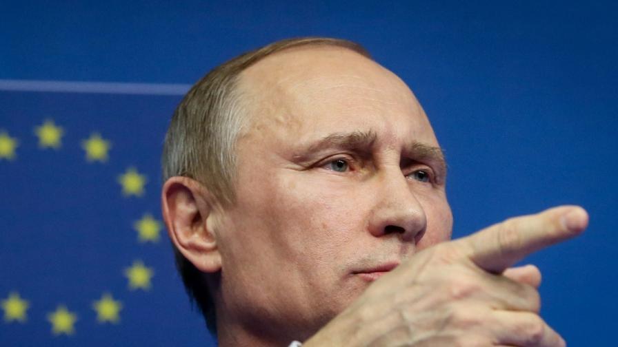 Путин: Брюксел да не се меси в украинската криза
