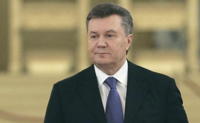 Украинският президент Виктор Янукович излязъл в болнични