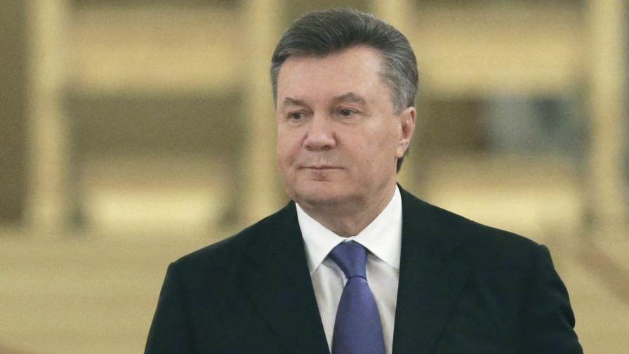 Виктор Янукович излязъл в болнични