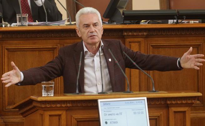 Парламентът разреши нови две наказателни преследвания срещу Сидеров