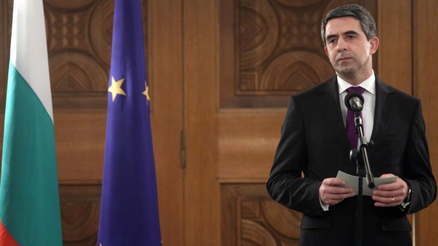 Президентът: Всички избори да се комбинират с референдуми