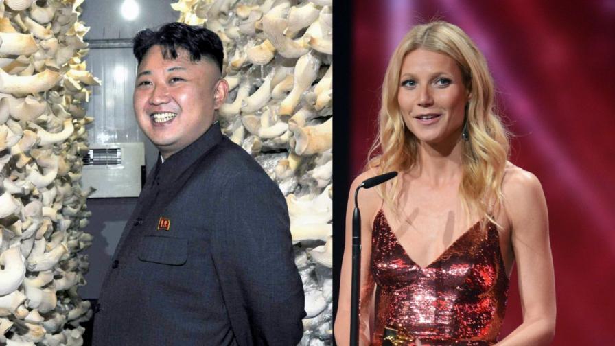 Списание сравни Гуинет Полтроу с Ким Чен-ун