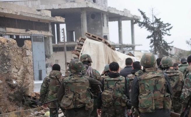 Сирийската армия убила 250 души в Алепо с варели с експлозиви