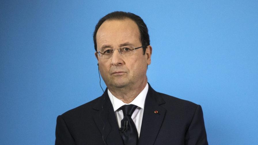 Френският президент Франсоа Оланд