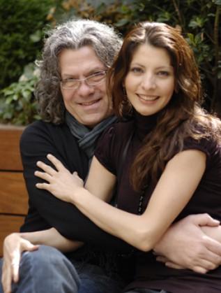 Иван Лечев и съпругата му Жени Александрова