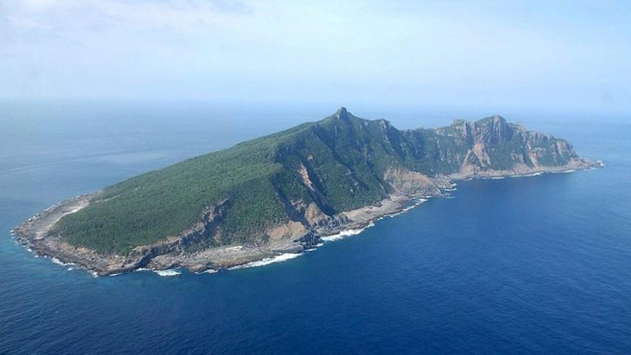 Китайски кораби във води, контролирани от Япония