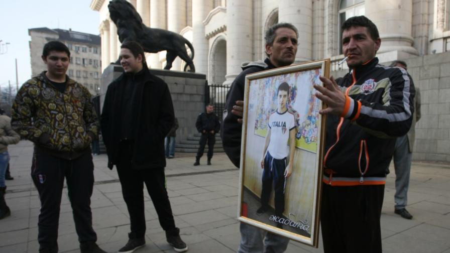 Протест заради свободата на охранителя Петко Еленков