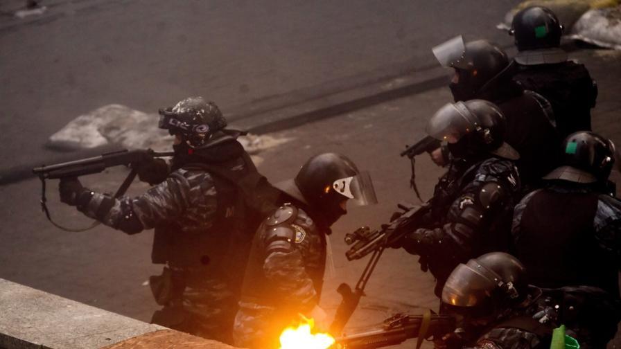 "В Украйна разформироват спецчастите ""Беркут"""
