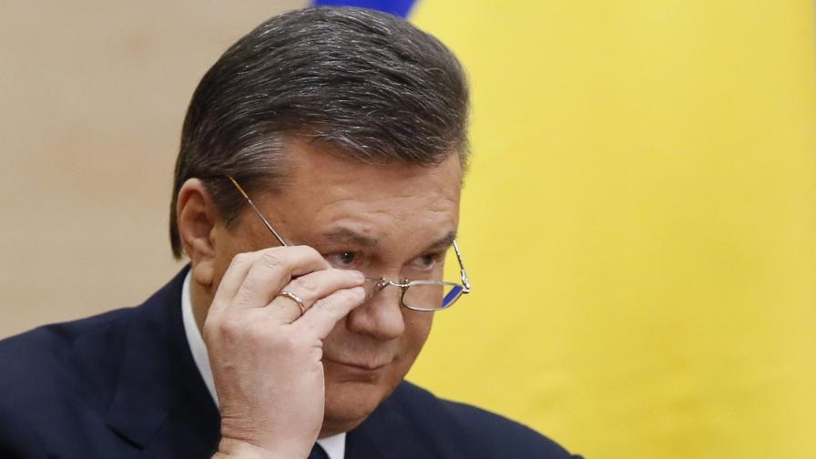 Виктор Янукович: Украйна е на крачка от гражданска война