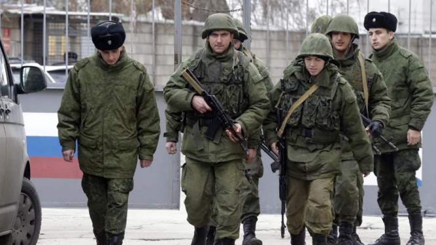 Руски войници в Украйна