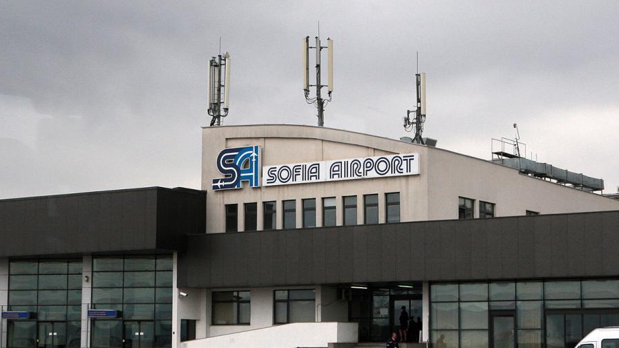 Правят спешен ремонт на Летище София