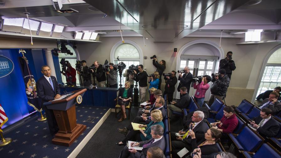 Обама: САЩ няма да пращат войски в Украйна