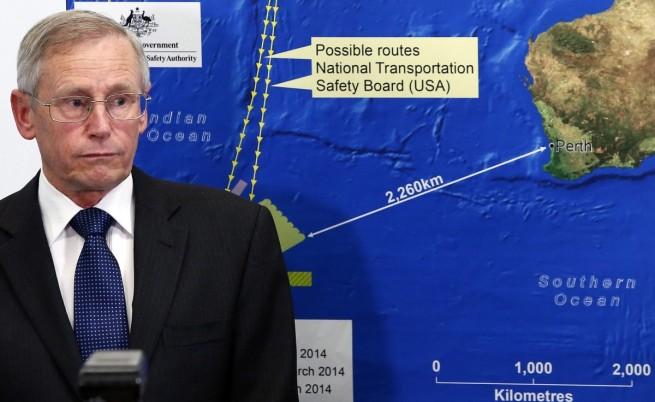 Австралия съобщи за два предмета, които може да са от изчезналия малайзийски самолет