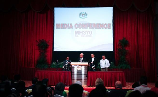 Премиерът на Малайзия: Самолетът е паднал в Индийския океан