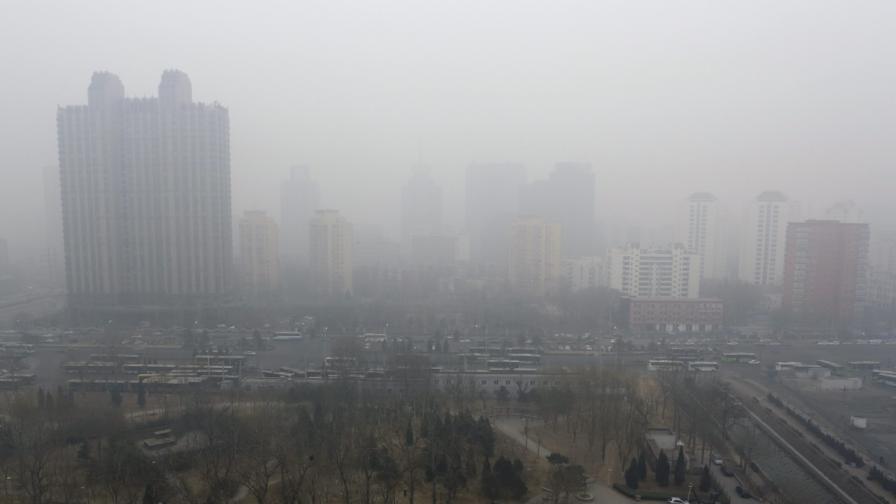 Китай е една от страните, в които замърсяването на въздуха е тежък проблем