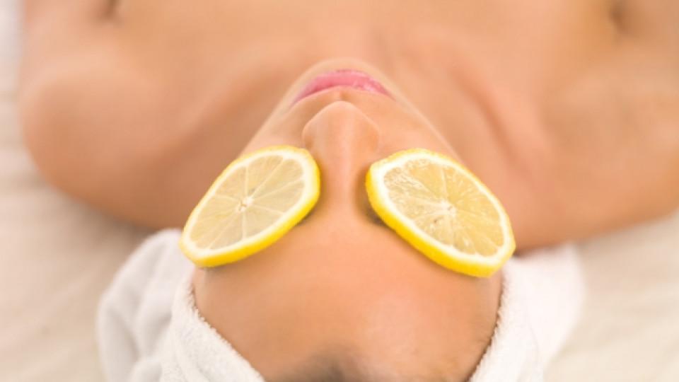 Сияеща кожа с помощта на лимон