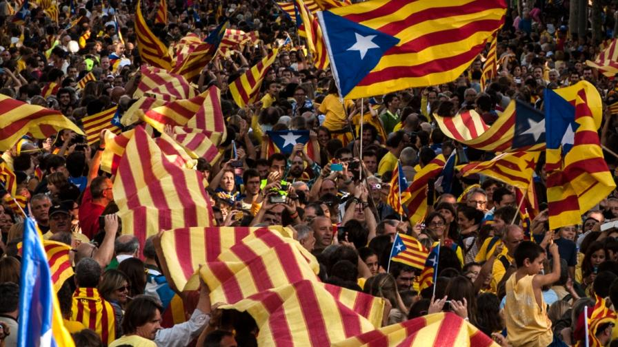 """""""Националният"""" празник на Каталуния – 11 септември, събира огромно множество всяка година"""