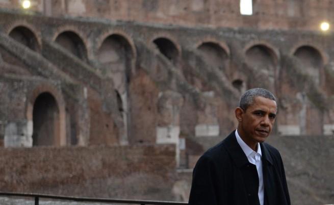 Барак Обама беше впечатлен от Колизея