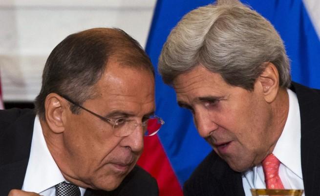 Джон Кери и Сергей Лавров с отделни пресконференции след 4 часа разговори за Украйна